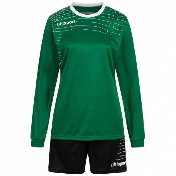 Uhlsport Match Damen Fußball Set Langarm Trikot mit Shorts 100316907