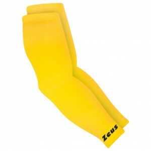 Zeus Kompression Armsleeves Strick Ellbogenbandage gelb
